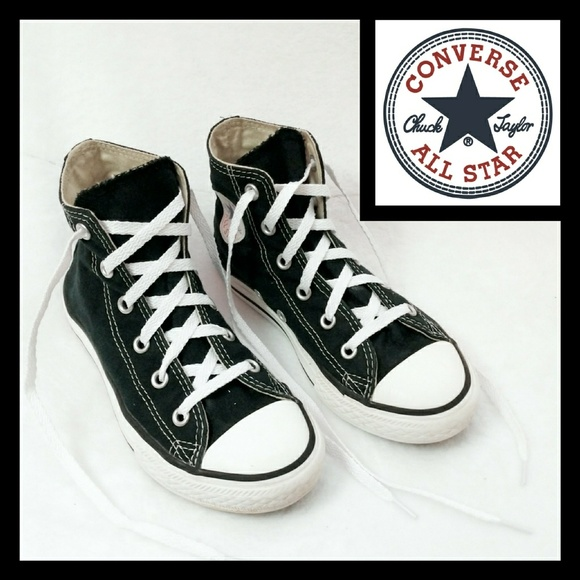 091a311d03be Converse Other - Converse Kids Classic Black High Top Sneakers